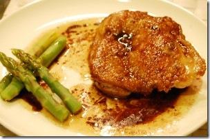 鶏肉のグリル・バルサミコソース