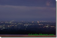 登美の丘より夜景