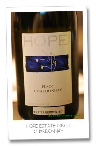 HOPE ESTATE PINOT CHARDONNAY