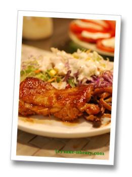 鶏肉のバルサミコ酢照り焼き