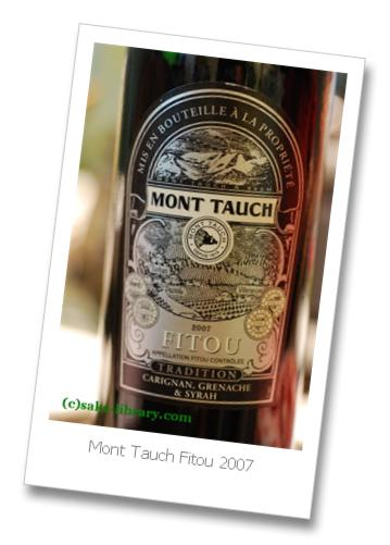 Mont Tauch Fitou 2007