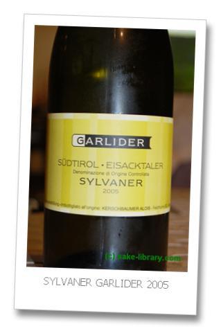SYLVANER GARLIDER